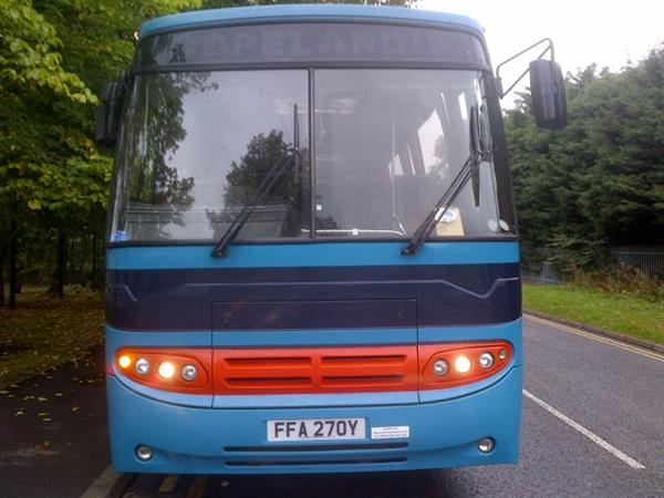 1983 Leyland Tiger 53 Seater Semi Automatic