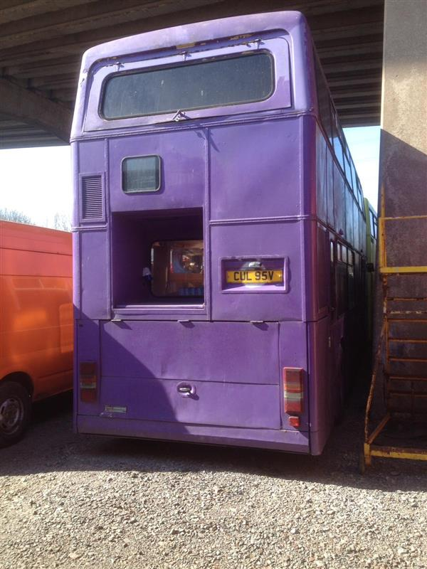 Leyland Titan Double Decker Living Accomodation